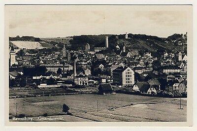 RAVENSBURG Industrie / Türme / Kiesgrube * Foto-AK um 1930