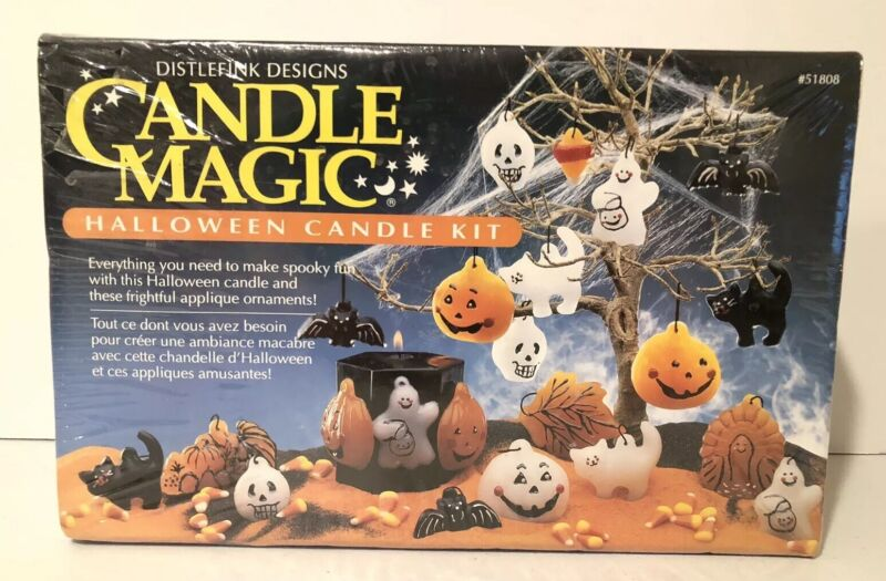 Candle Magic Halloween Candle Kit  Distlefink Designs 51808 Craft New Sealed