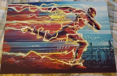 SDCC 2019 The Flash Poster