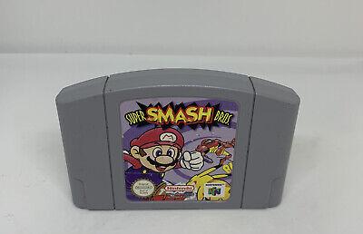 Nintendo 64 N64 Game Super Smash Bros. - Cart Only - GC - PAL