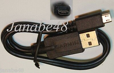 OEM Genuine GARMIN GPS Micro USB Data/Map update Cable/Cord Dezl 560lmt 760lmt