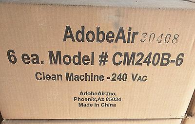 Lot of (6) Adobe Air CM240B Power Clean Purge Pump for Evaporative Swamp Coolers
