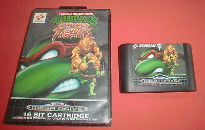 Megadrive 1 & 2 TMNT Turtles Tournament Fighters [PAL-Fr] Original Sega  *JRF*
