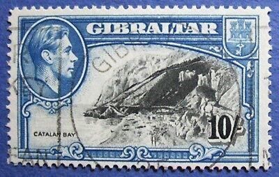 1938 GIBRALTAR 10S SCOTT# 117a S.G.# 130 USED  CS02040