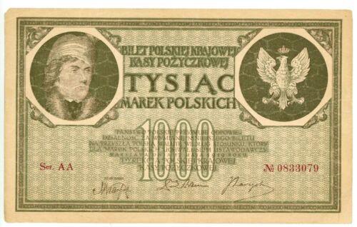Poland ... P-22 ... 1000 Marek ... 1919 ... *F++*.