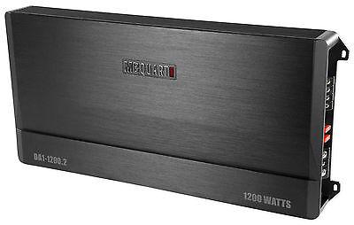 New MB Quart DA1-1200.2 1200 watt RMS 2 Channel Car Stereo Amplifier Discus Amp
