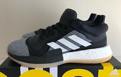 Men's Adidas Marquee Boost Low Basketball Shoes Black Gum - New! | sz 9