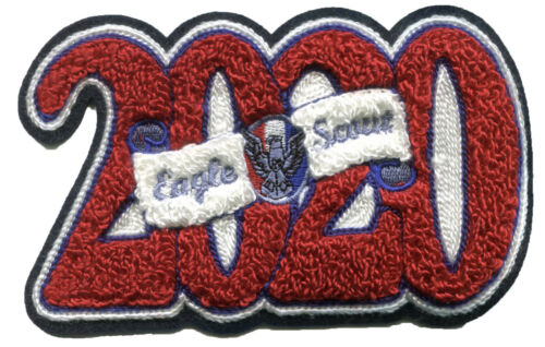 Eagle Class of 2020 Chenillie Patch