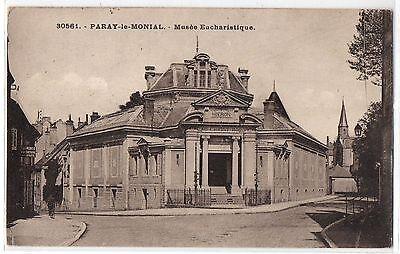 CPSM PF 71 - PARAY LE MONIAL (Saône et Loire) - 30561. Musée Eucharistique