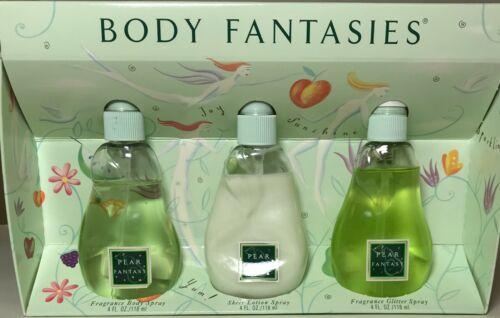 Body Fantasies Pear  Fantasy 3 piece Set by Parfums de Coeur