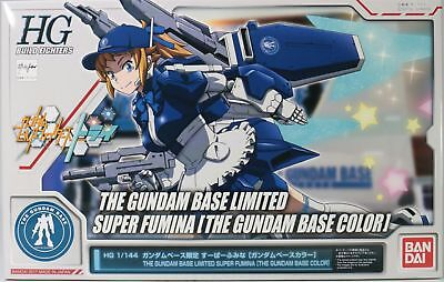 HGBF 1/144 Gundam Base Limited Super Fumima Gundam Base Color Bandai Gunpla