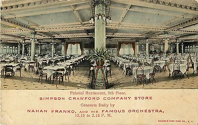 Palatial Restaurant, Simpson Crawford Company Store, 641 6th Avenue, New York (Sixth Avenue Store)
