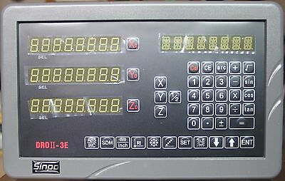 Sinpo 3- Axis Digital Readout Dro Kit For Edm Electrical Discharge Machining