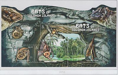 Solomon Islands Bats of the Island Sheetlet 2012 UM