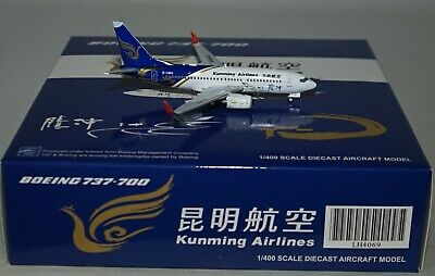 WL Air China B-1219 in 1:400 scale NG Model 58031 Boeing 737-89L