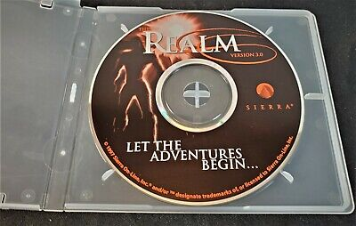 Sierra Online: The Realm V 3.0 PC Game Early MMORPG 1997 Ultra Rare  Tested