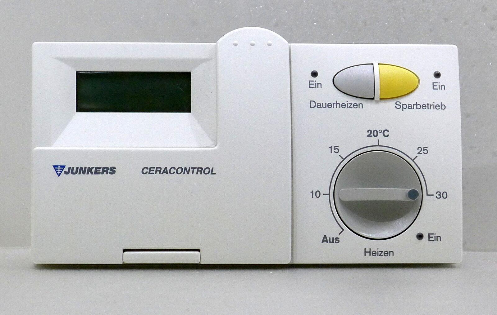 junkers tr 100 raumtemperaturregler thermostat. Black Bedroom Furniture Sets. Home Design Ideas