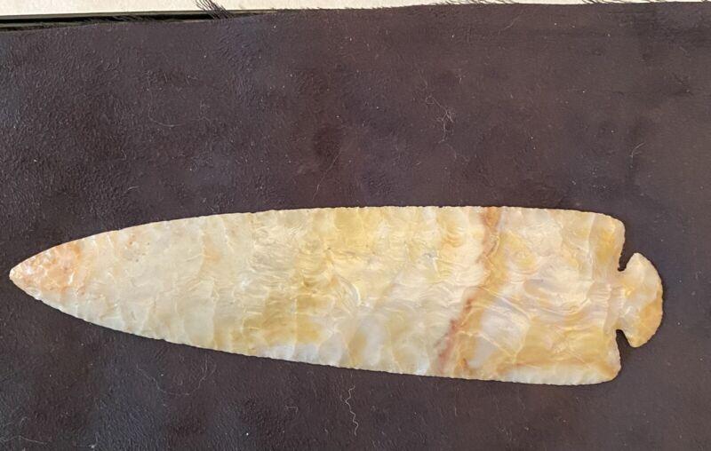 ohio flintridge dovetail arrowhead indian artifact