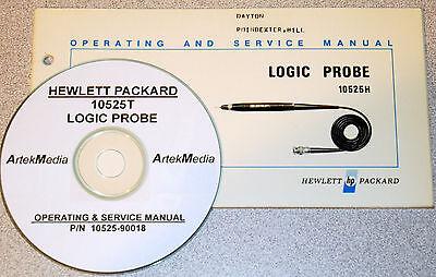 Hp 10525t Logic Probe Operating Service Manual