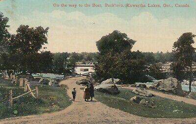 BUCKHORN , Ontario , 1914 ; Kawartha Lakes , on way to Boat