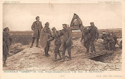 POSTCARD    MILITARY  WWI   DAILY  MAIL    Series  6   No  44