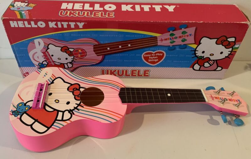 Hello Kitty Ukulele Sanrio 2012 with Box