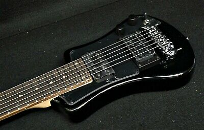 HOFNER HCT-SH-D-BK SHORTY DELUXE TRAVEL Electric Guitar 2 PICKUPS Color is BLACK