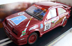 Scalextric C408 Ford Sierra Cosworth - #16 - Burgundy Very Rare Car - Brand New