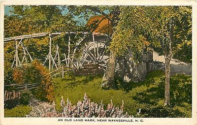 North Carolina  Nc  Waynesville  An Old Land Mark 1920S Postcard