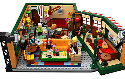 Lego Central Perk Friends Set - 21319 - New in Box