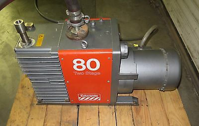 Boc Edwards 80 E2m80 Two Stage Oil Sealed Rotary Vane High Vacuum Pump