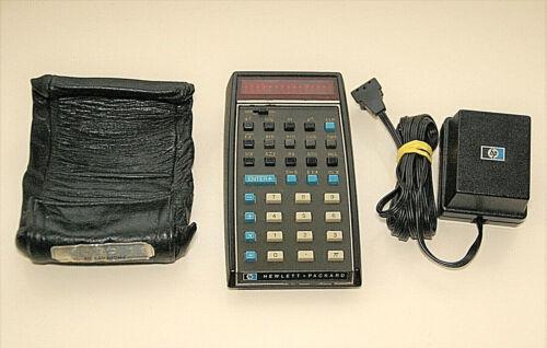 HP-35 V2 Scientific Calculator - No Bug - Working