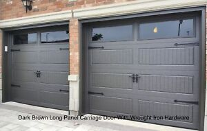 8x7 INSULATED CARRIAGE GARAGE DOORS ........... $900 INSTALLED