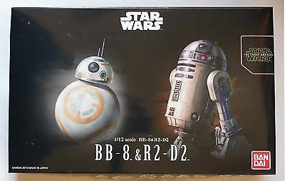 Bandai 1 12 Bb 8   R2 D2  Star Wars Ep  7 The Force Awaken  Scale Model Kit