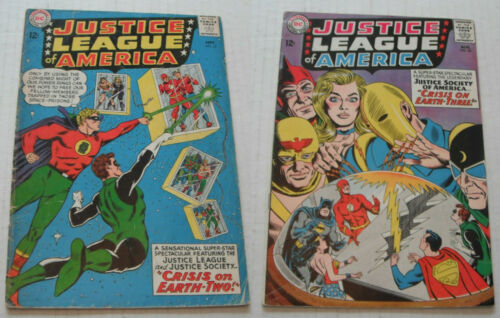Justice League of America # 22 + 29.... GOOD-VG...BC...1963 JSA comic books