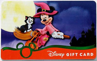 Im Dunklen Halloween Geschenkkarte 2013 Minnie Maus & Figaro (Halloween-geschenk-karte)