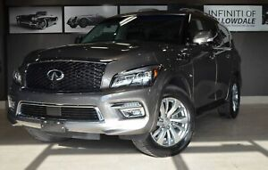 2017 Infiniti QX80 Demo - 30mnth Lease for $894+HST