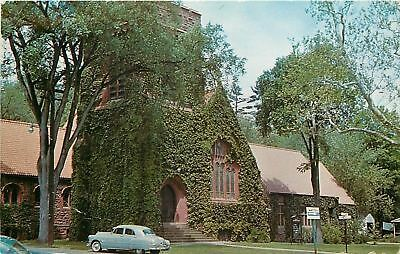 Simsbury Connecticut Simbury Methodist Church Granby Round Cancel C1950