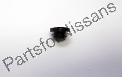 GENUINE NISSAN RUBBER BUMPER STOPPER FOR BRAKE PEDAL LIGHT LAMP BLACK NEW OEM