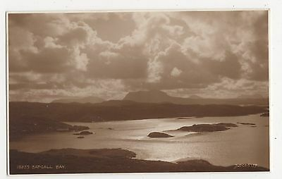 Scotland, Badcall Bay, Judges 18275 Postcard, A872