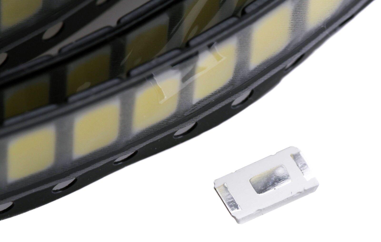 50x 5730 SMD LED Diode 0.5W Licht 3V 150mA 6000K Day Light Weiß