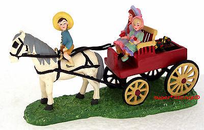 Dept. 56 Seasons Bay The Garden Cart Retired  53327 New in Box