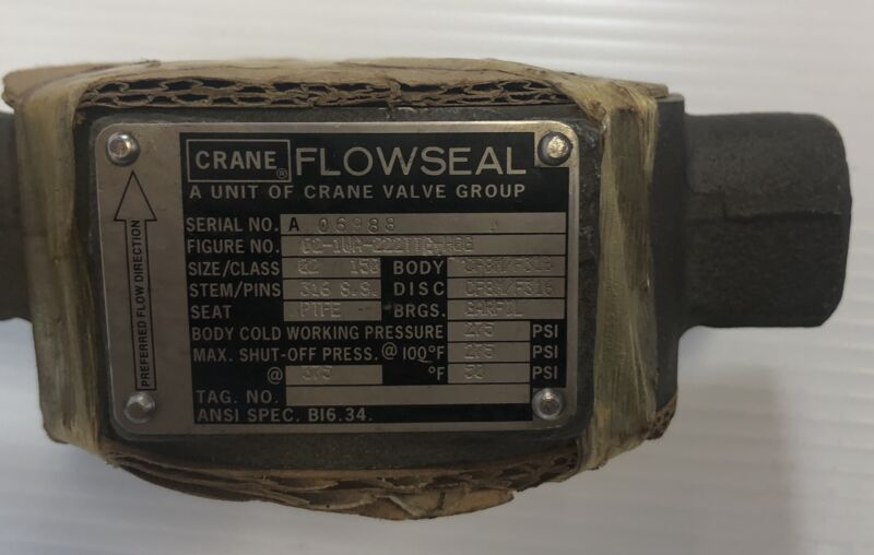 Solenoid Pneumatic Actuated Butterfly Crane Flowseal Valve Assembly
