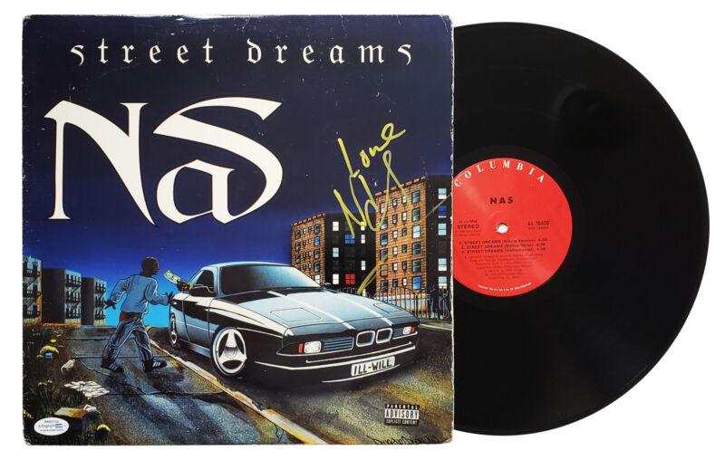 Nas Autographed Signed Record Album LP ACOA