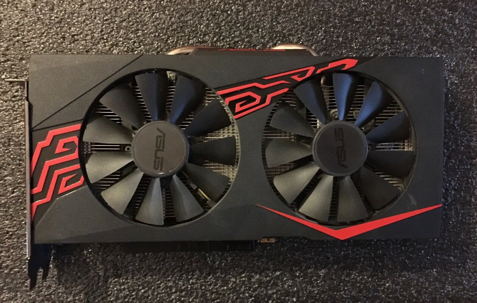 Asus radeon rx 570 4gb  oc amd  gddr5 gpu carte graphique no reserve!