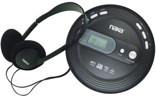Naxa NPC-330 Slim Anti-Shock Personal Portable CD Player with FM Radio