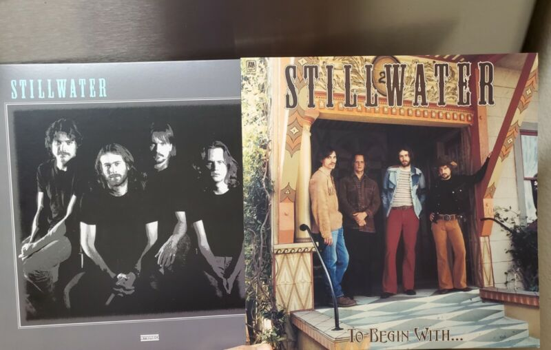 Almost Famous Movie Prop Collection. 2 Stillwater Album Covers & Backstage Pass