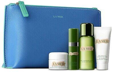 LA MER 5 pc set Treatment Lotion, Revitalizing Mask, Hydrating Serum, Soft Cream