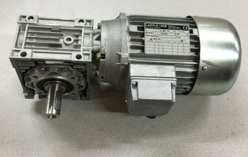 NEW LAIPPLE / KEB GEARMOTOR M71B4 WITH NMS50 REDUCER