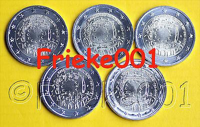 Duitsland - Allemagne - 5x 2 euro 2015 comm.(30 jaar europese vlag)